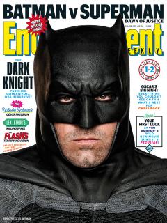 Batman v Superman - okładka z Batmanem