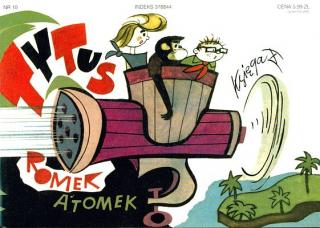 Tytus, Romek i A'Tomek. Księga X: Ochrona przyrody - okładka