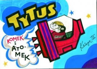 Tytus, Romek i A'Tomek. Księga III: Tytus kosmonautą - okładka