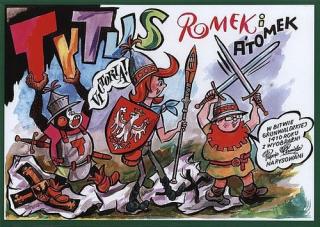 Tytus, Romek i A'Tomek w Bitwie Grunwaldzkiej - okładka