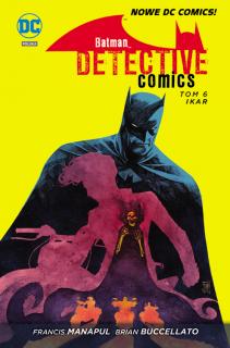 Batman Detective Comics #6: Ikar - okładka
