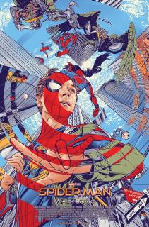 Spider-Man: Homecoming - plakat Mondo