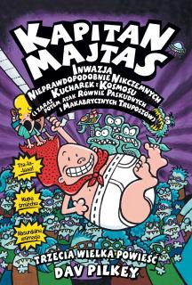 Kapitan Majtas: Inwazja nieprawdopodobnie Nikczemnych kucharek z kosmosu