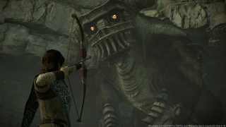 Shadow of the Colossus - screeny z gry