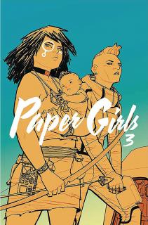 Paper Girls, tom 3 - okładka