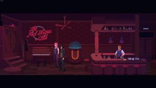 The Red Strings Club - screeny z gry