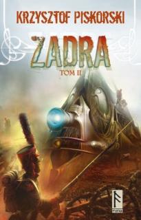 Zadra, tom 2 - okładka