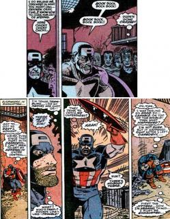 Najdziwniejsze momenty komiksowych Mścicieli - Kapitan Ameryka i narkotyki