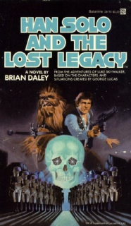 """Kryształowa czaszka w siedzibie Drydena jest nawiazaniem do książki """"Han Solo and the Lost Legacy"""""""