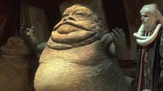 Jabba - w paru scenach Tobias wspomina o gangsterze z Tattoine, który szuka pracowników. Chodzi oczywiście o słynnego Hutta
