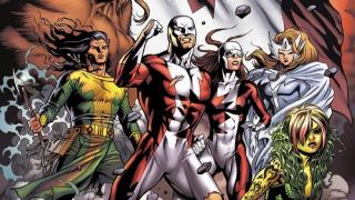Alpha Flight - kanadyjska drużyna superbohaterów, w skład której wchodzą takie postacie jak Shaman czy Sasquatch; wielokrotnie drwił z niej Deadpool