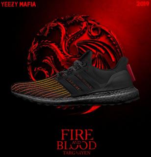 Gra o tron - obuwie Adidas dla fanów