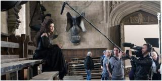 Harry Potter i Insygnia Śmierci - zdjęcia z planu