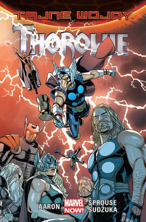 Tajne wojny – Thorowie - okładka