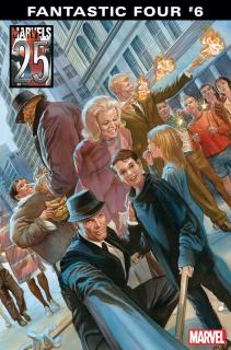Fantastic Four #6 - wariant okładki