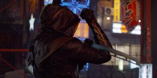 """Hawkeye jako nowy bohater, Ronin; w komiksach z serii Ultimate Clint Barton został z nim po tym, jak stracił swoją rodzinę; najprawdopodobniej doszło do tego również w MCU - zwróćmy uwagę, że Kapitan Ameryka mówi o """"utracie rodziny i części siebie"""""""