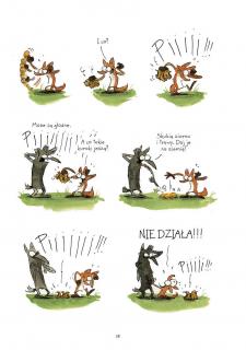 Wielki zły lis - plansza