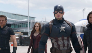 Kapitan Ameryka - Kapitan Ameryka: Wojna bohaterów (2016)