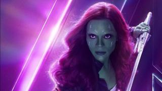 Gamora - przed swoją śmiercią miała 29 lat liczonych na swojej macierzystej planecie