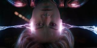 Świadomość kosmiczna - podobnie jak Adam Warlock Carol poruszając się po Kosmosie jest w stanie przewidywać te rzeczy, które będą miały na nią w jakikolwiek sposób wpływ