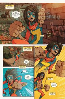 Ms. Marvel #05. Supersławna - plansza 1