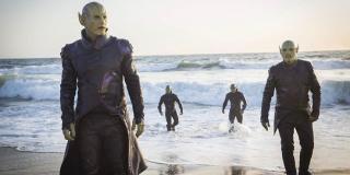 Choć w filmie Skrulli pokazano koniec końców jako dobrą rasę, w komiksach prawie zawsze przedstawiani są jako najeźdźcy, którzy chcą zinfiltrować Ziemię.