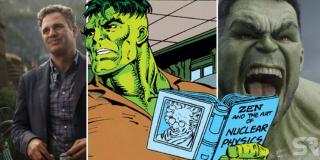 Profesor Hulk staje się połączeniem brutalnej siły Hulka i umysłu Bannera. W rzeczywistości komiksowej postać ta była de facto odrębnym bytem.