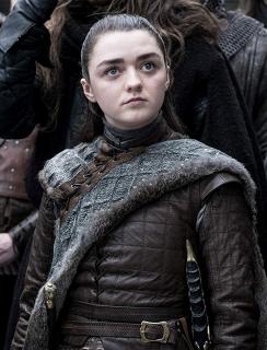 Maisie Williams w 8. sezonie Gry o tron