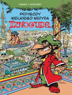 Przygody wielkiego wezyra Iznoguda, tom 1 - okładka