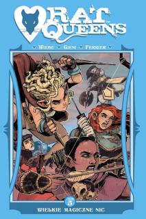 Rat Queens, tom 5 - okładka