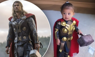 Stormi, córka Kylie Jenner w ramach bonusu (Thor)