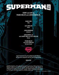 Superman: Year One - plansze