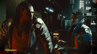 Fabuła Cyberpunk 2077 skupia się wokół postaci znanej jako V. Najemnika, który stara się znaleźć wyjątkowy implant będący kluczem do nieśmiertelności.