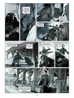 Sherlock Holmes Society #01. Przygoda w Keelodge - plansza