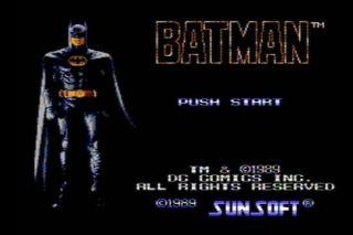 Batman - NES (1989)