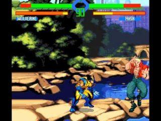 X-Men vs. Street Fighter - automaty, SEGA Saturn, PlayStation (1996)