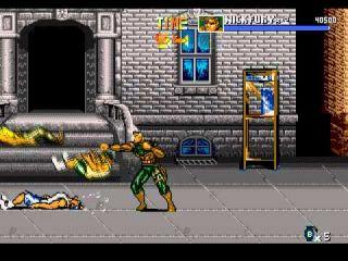 The Punisher - automaty, SEGA Genesis (1993)
