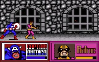 Spider-Man and Captain America in Doctor Doom's Revenge - Amiga, Amstrad CPC, Atari ST, Commodore 64, DOS, ZX Spectrum (1989)