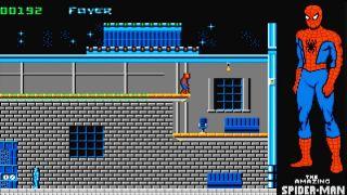 The Amazing Spider-Man - Amiga, DOS, Commodore 64, Atari ST (1990)