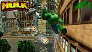 The Incredible Hulk: Ultimate Destruction - PlayStation 2, Xbox, GameCube (2005)
