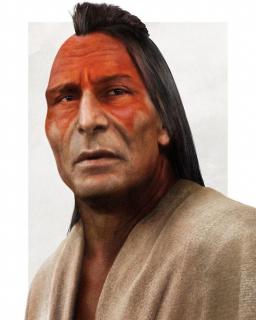 Ojciec Pocahontas - grafika