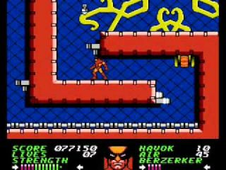 Wolverine - NES (1991)