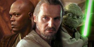 """Nie jest jasne, czy obecność Gwiezdnych Wojen w MCU możemy uznać za kanoniczną. Fury używając Szekspirowskiego cytatu wspomina co prawda o kosmicznej sadze, jednak Samuel L. Jackson wcielał się w niej w postać Mace'a Windu. Podobny paradoks znamy już z Avengers: Endgame, gdy Iron Man określa Thora mianem """"Lebowskiego"""" – ekranowy Big Lebowski, Jeff Bridges, zagrał w MCU Obadiah Stane'a."""
