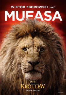 Król Lew - polski plakat