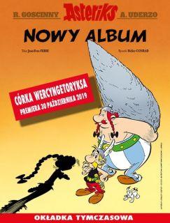 Asteriks. Córka Wercyngetoryksa, tom 38 - okładka