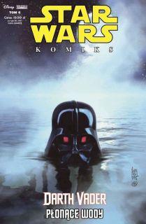 Darth Vader – Płonące wody, tom 6 - okładka