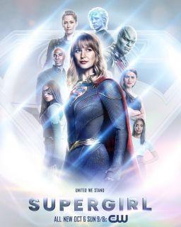 Supergirl - plakat 5. sezonu