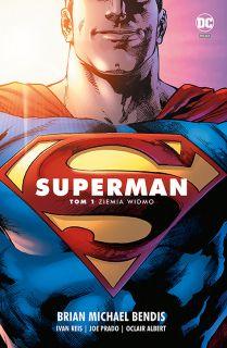 Superman 1. Saga jedności – Ziemia widmo, tom 1 - okładka