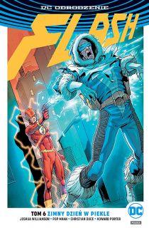Flash – Zimny dzień w piekle, tom 6 - okładka
