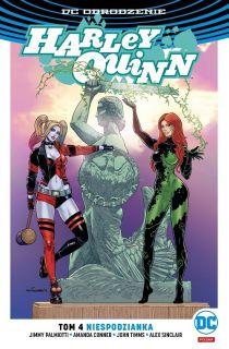 Harley Quinn – Niespodzianka – polska okładka Ivy i Harley Warszawa, tom 4 - okładka